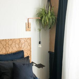 tablette de chevet la cordialit maison d 39 h te locations. Black Bedroom Furniture Sets. Home Design Ideas